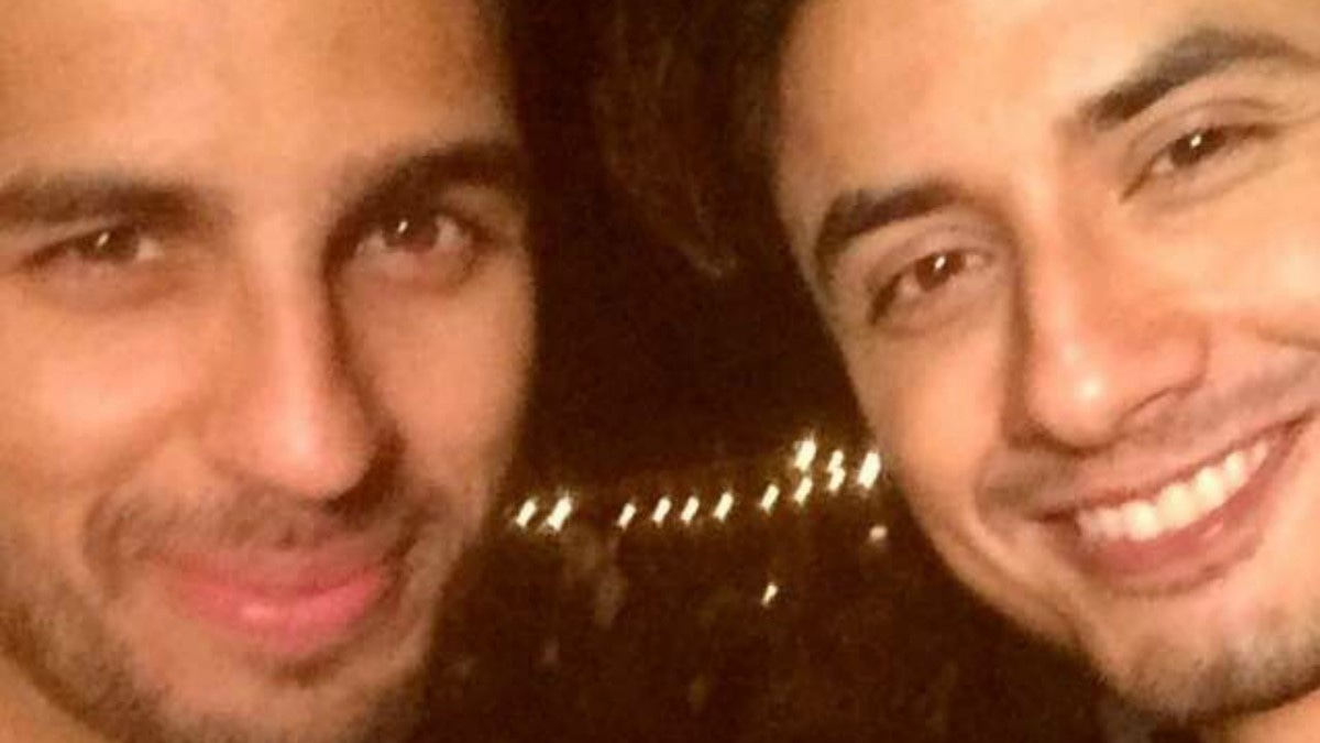 This selfie of the stars together is driving us crazy with anticipation!