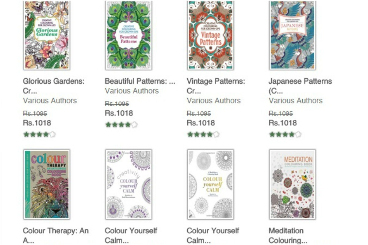 At nearly Rs. 1000 a book, these still run much cheaper than a shrink —Screenshot of the Liberty Books website