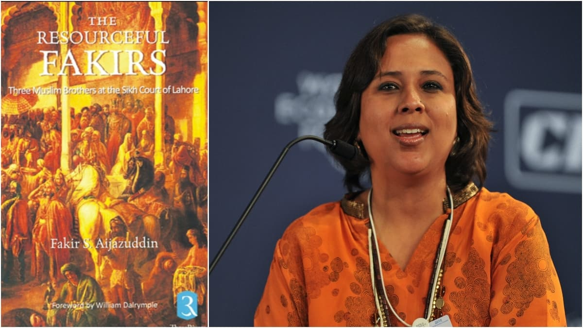 The Resourceful Fakirs by F. S. Aijazuddin (L) will be one of the books launched at KLF. Barkha Dutt (R) will also be present at her book launch.