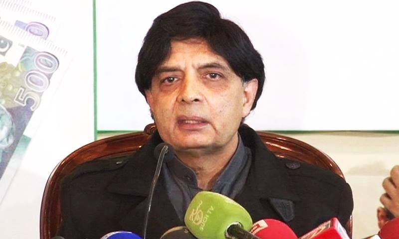 Interior Minister Chaudhry Nisar Ali Khan says it was people who never read NAP who were criticising the policy.—DawnNews