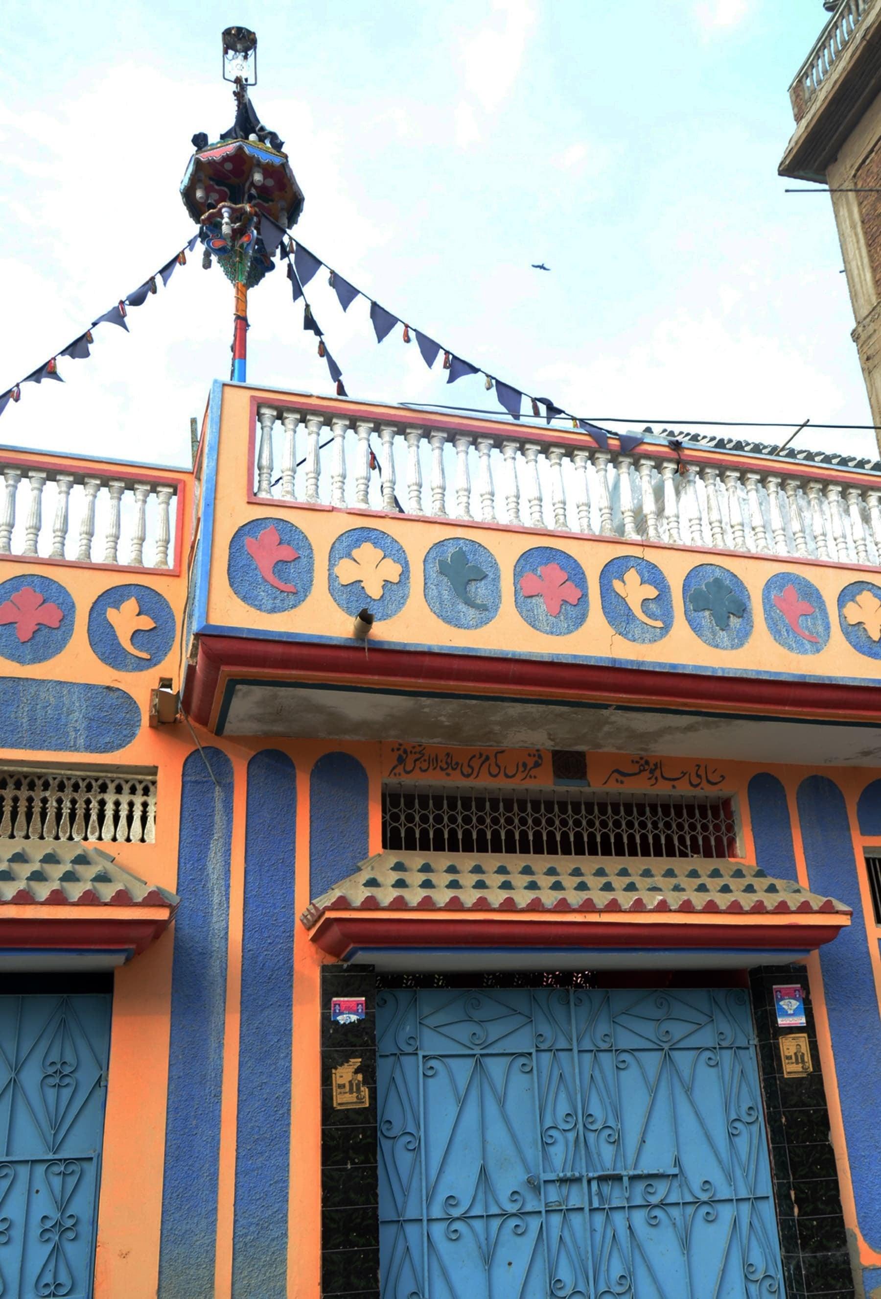 A house belonging to transgenders in Mirpur Khas.