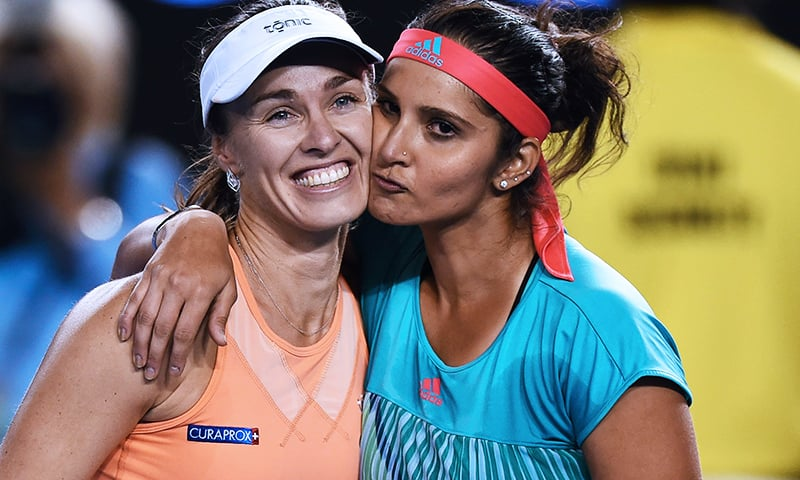 The pair, who have now won 36 successive doubles matches, are also the reigning Wimbledon and US Open champions. — AFP