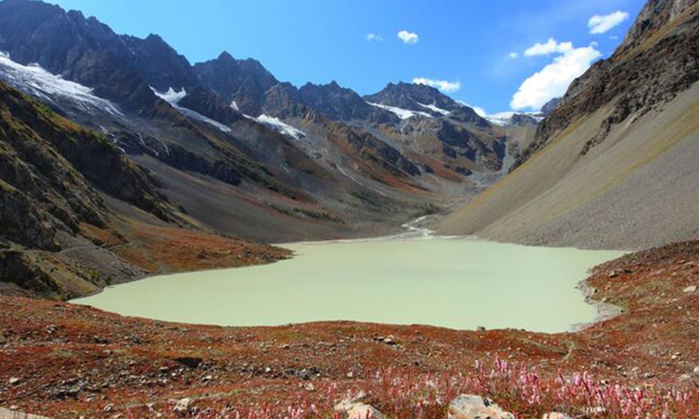 Naltar lake, 40 kms from Gilgit. —Photo by Ghulam Rasool
