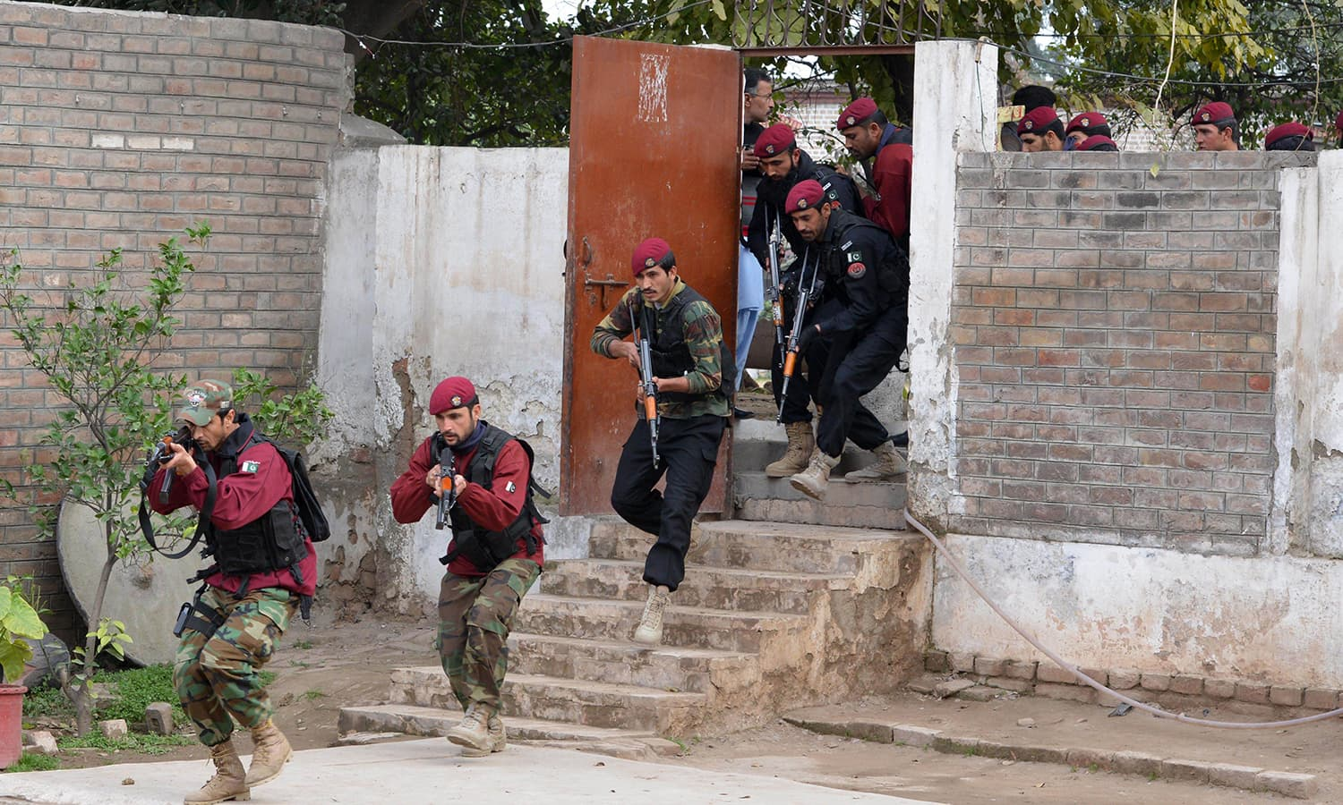 The government seeks to boost security after the deadly assault at Charsadda university. —AFP