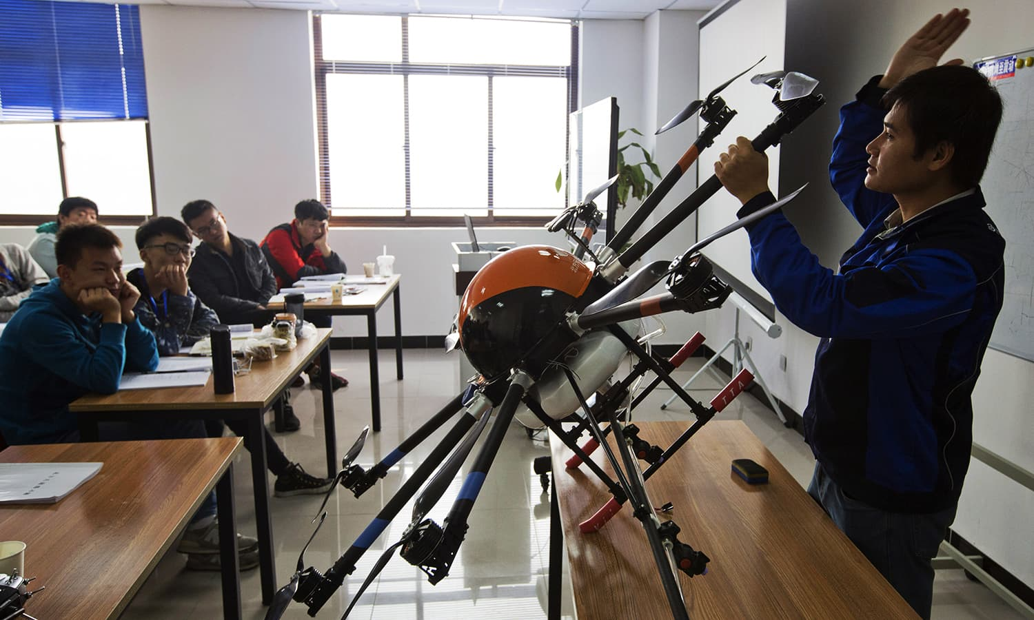 China's drone schools field pilots for potentially lucrative new jobs