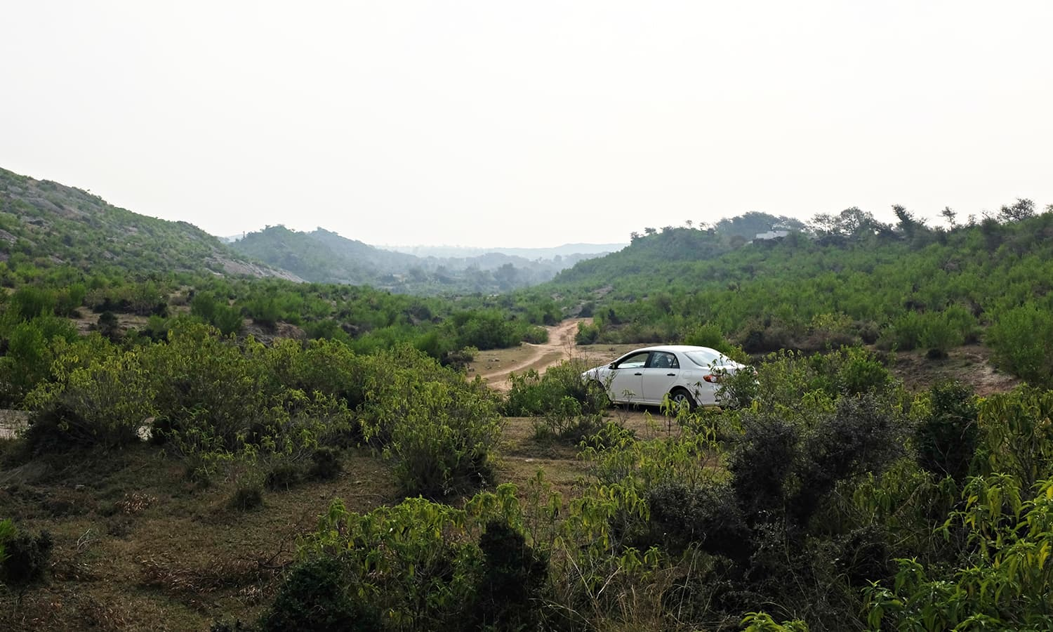 We pick an alternate road and hit a dead-end.