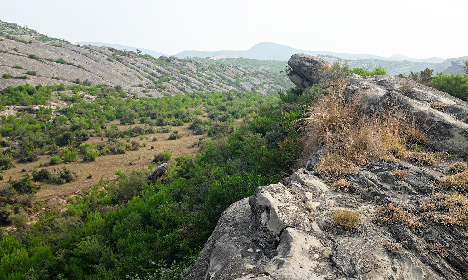 I navigate through ridges and gorges.