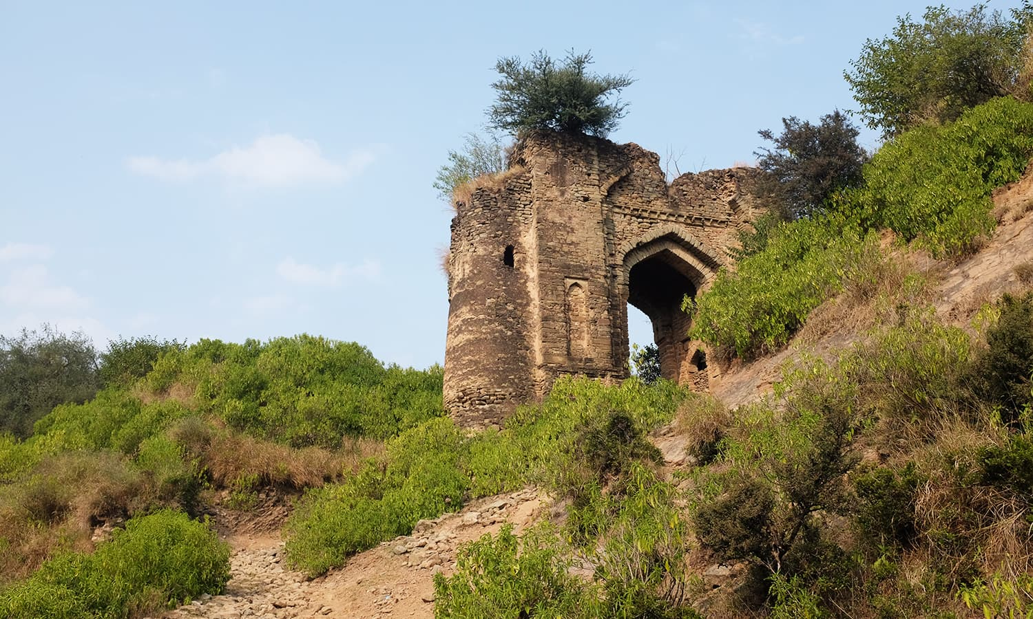 The Haathi gate has survived turbulent times.