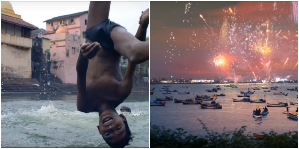 Ganges: the most popular watering hole in India - Screenshot from Coldplay's Hymn for the Weekend