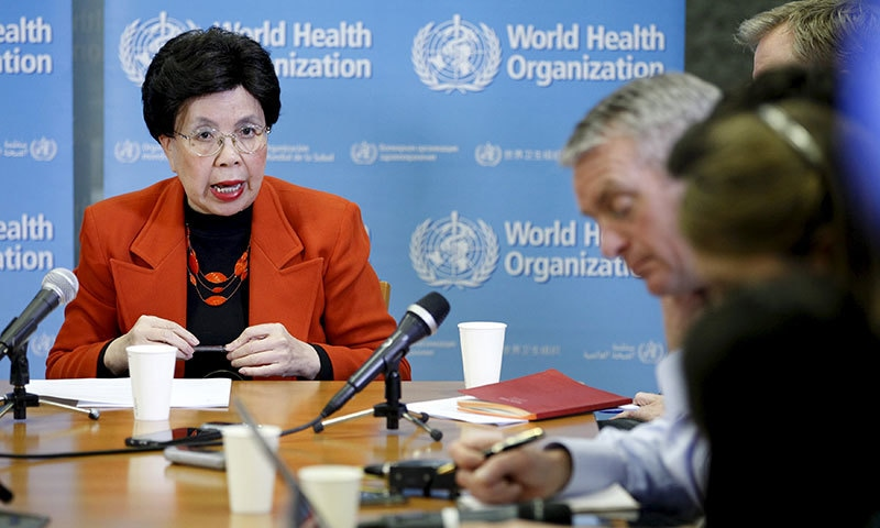 WHO Director-General Margaret Chan speaks during a news conference after the first meeting of the International Health Regulations Emergency Committee concerning the Zika virus and observed increase in neurological disorders and neonatal malformations in Geneva. ─Reuters