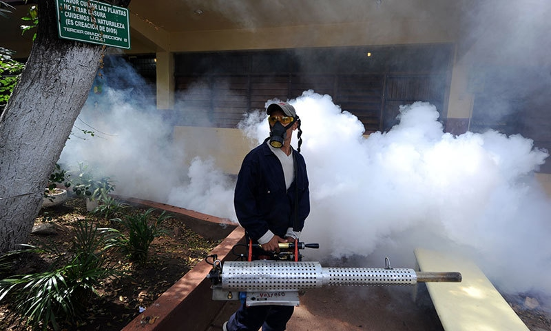 WHO and Ministry of National Health Services had said that there is no threat of the Zika virus in Pakistan. ─AFP