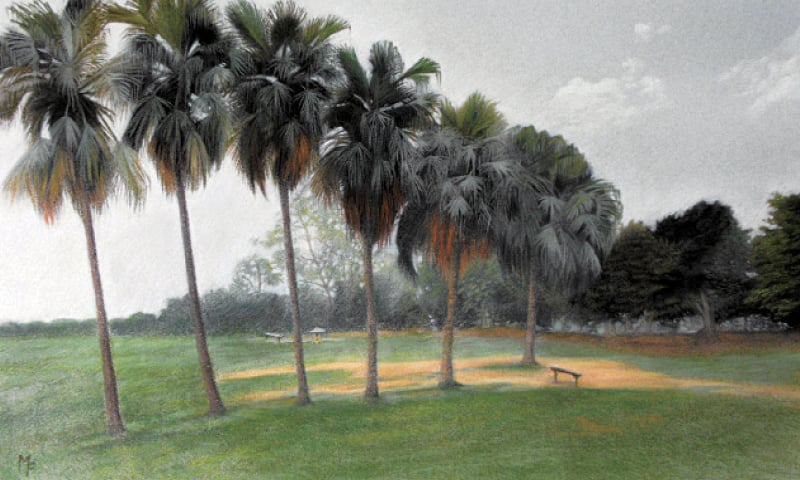Michelle Farooqi's technique and expression has drawn comparisons with the masters of the landscape genre