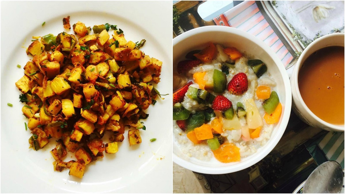Mantaha regularly posts pictures of food and shares recipes with clients to keep them motivated to eat right. —Photo courtesy: Mantaha Maqsood's Facebook page