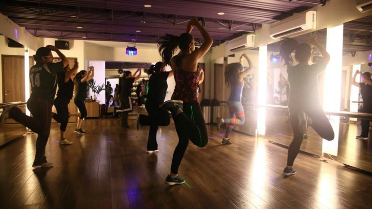 Maqsood also teaches Zumba, a rigorous form of dance fitness program. —Photo courtesy: Mantaha Maqsood's Facebook page