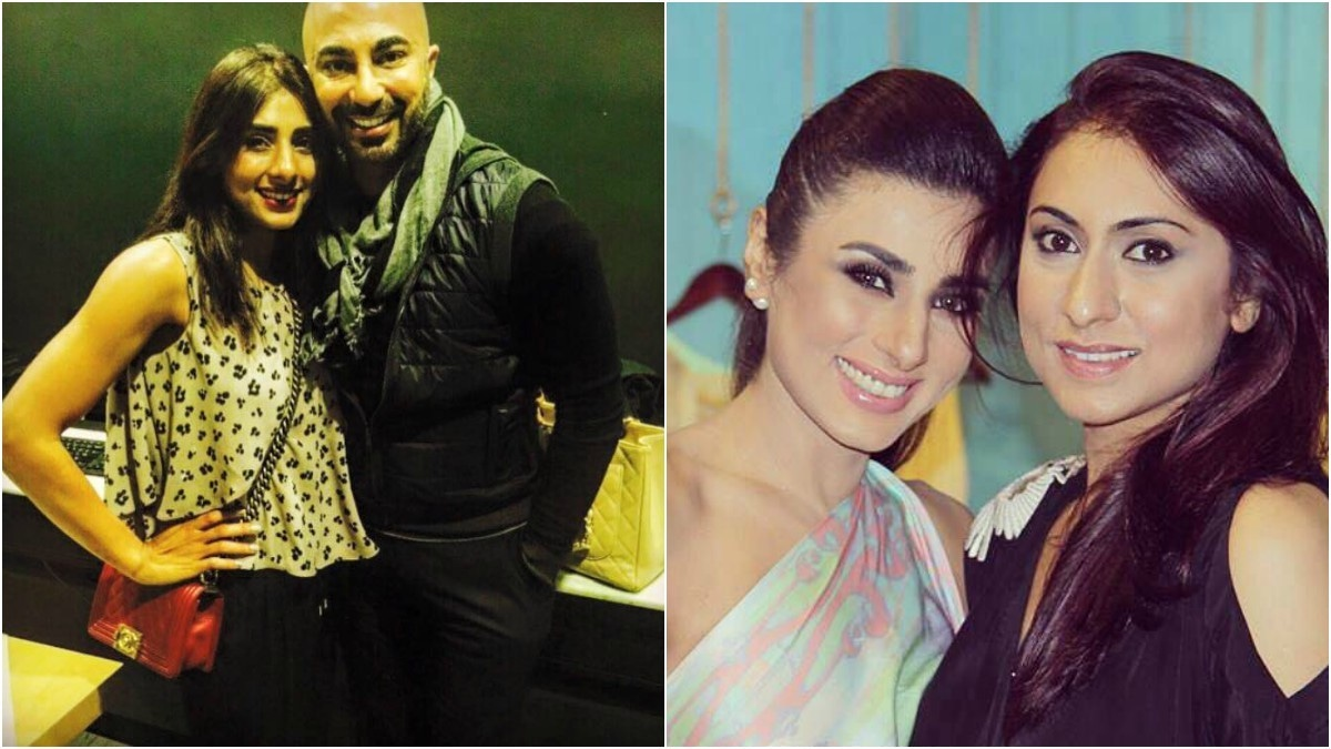 Mantaha has no shortage of celebs endorsing her workouts such as HSY (L) and Wardha Saleem