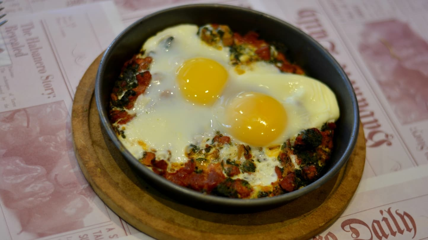 Shakkshuka is a delicious new way to have your morning eggs - Publicity photo