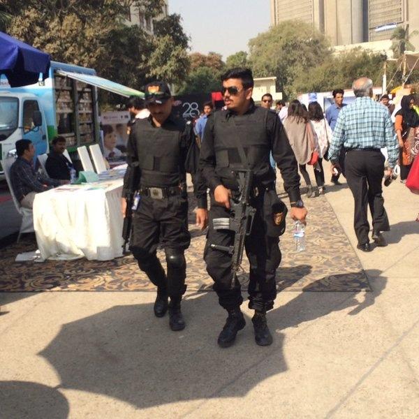 So many commandos. Photo: Dawn