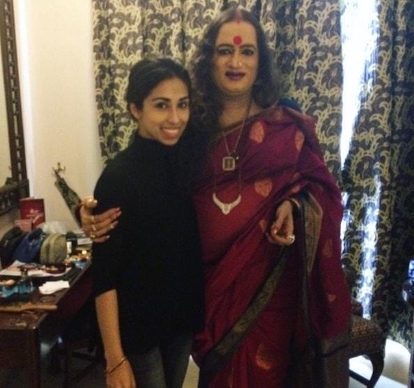 Hamna Zubair with Laxmi Tripathi. Photo: Dawn