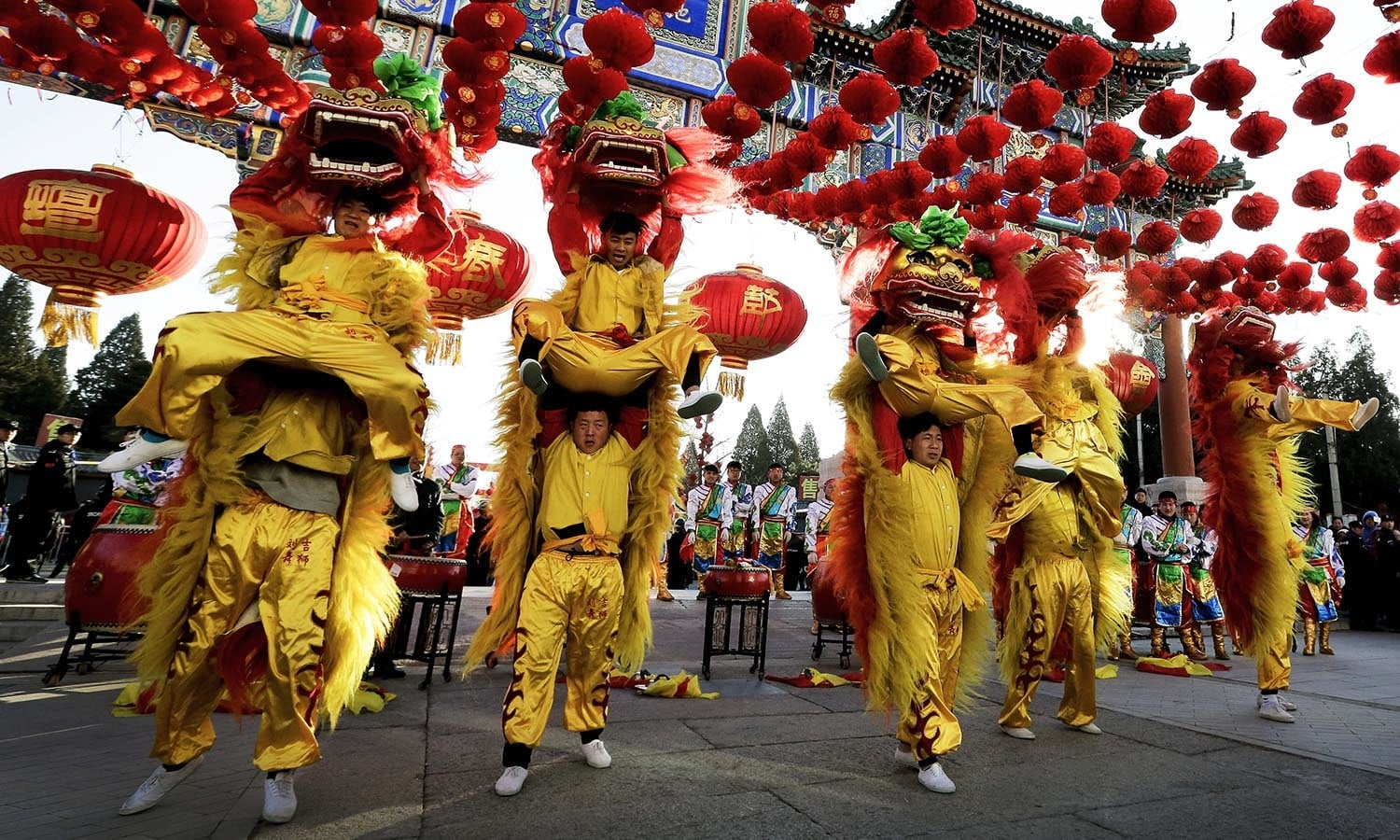 Uncategorized Chinese New Year Dance chinese new year celebrations world dawn com performers participate in a lion dance at ditan park to mark the first day of chinese
