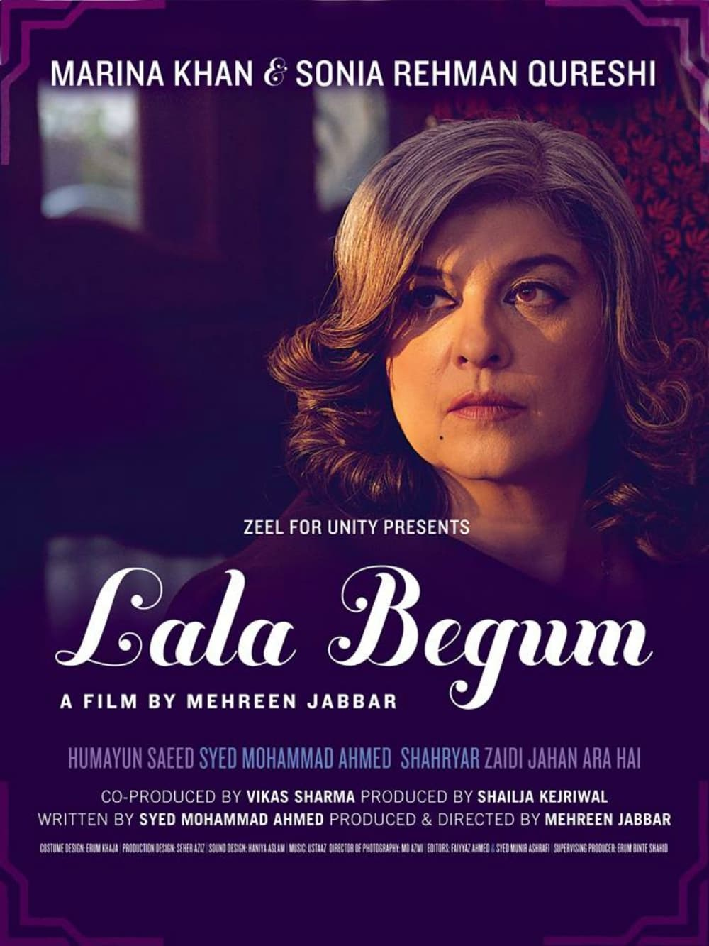 The official poster of Lala Begum
