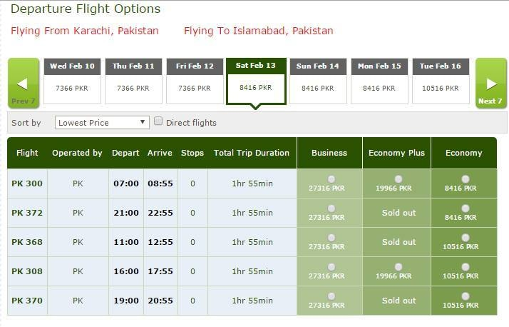 PIA slashes fares '