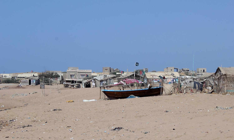 Mubarak Village, a forgotten part of Karachi