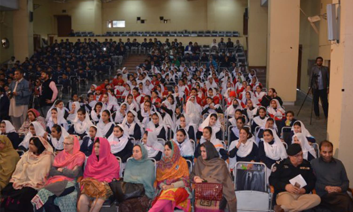 Parents and teachers have been enthusiastic about the interactive theatre plays, which aim to educate children about a range of social issues. Photo by Riaz Ghafoor