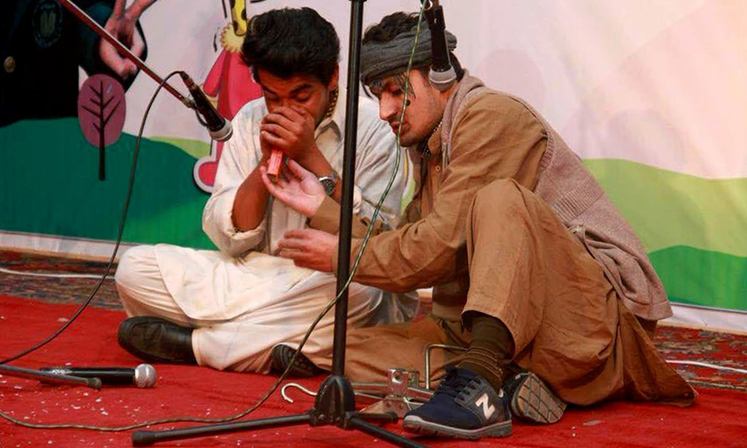 An interactive theatre play about child sex abuse. —Photo NewsLens Pakistan