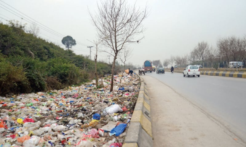No waste management system for capital's rural areas