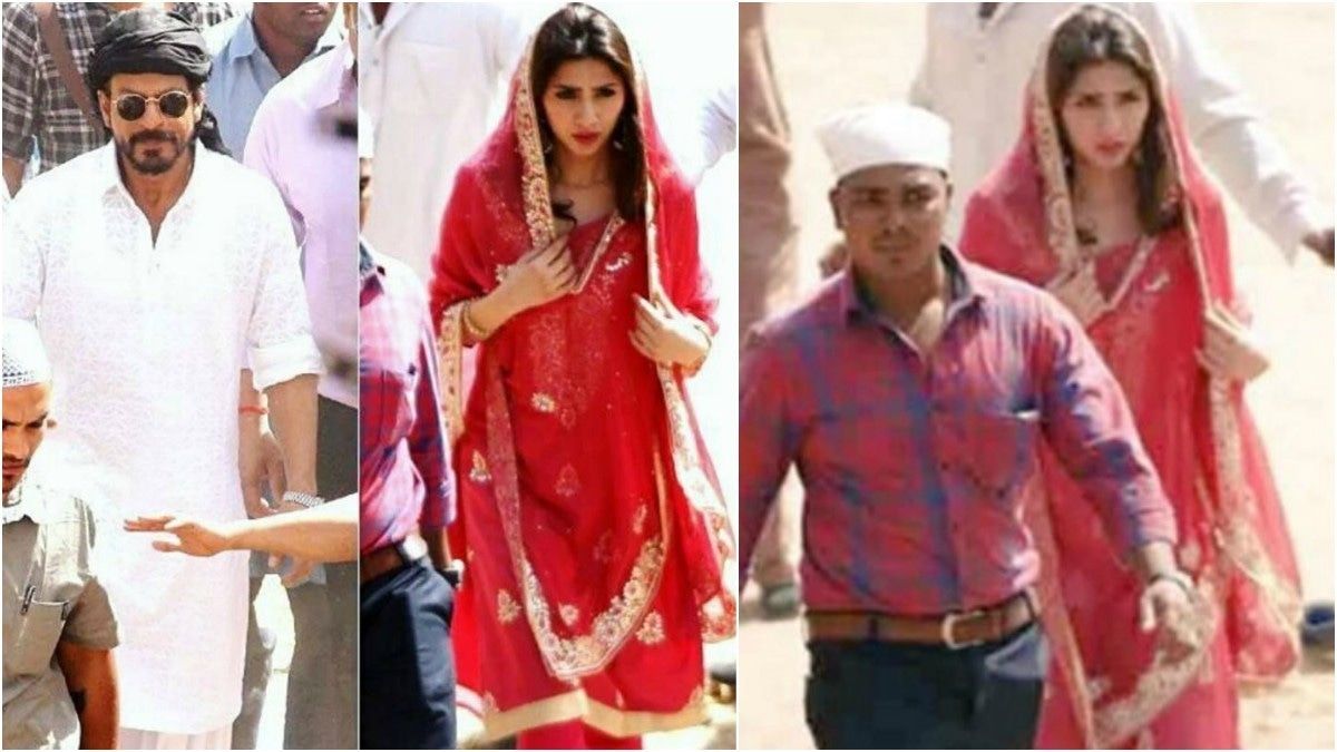 A first look of Mahira Khan in Raees; the film's fate also hangs in the balance