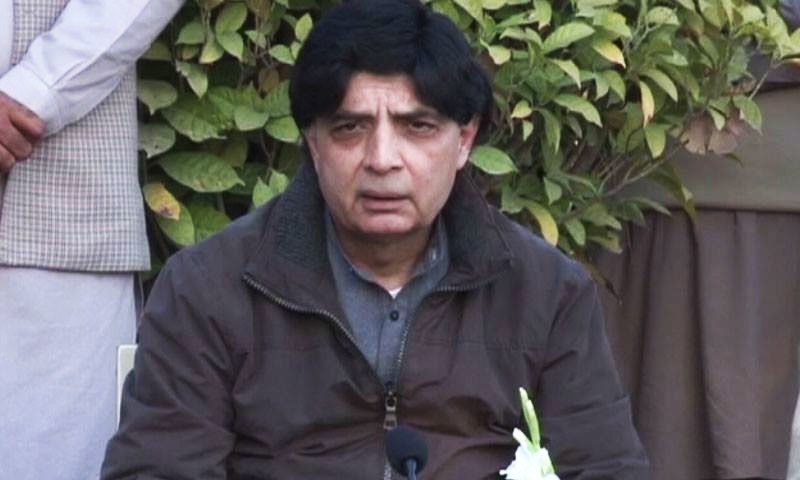 Nisar says there were 31 cases registered against the Lal Masjid cleric.─ DawnNews