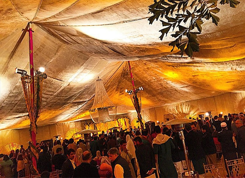 Afeef experienced the quintessential December wedding in Lahore. —Photo provided by author