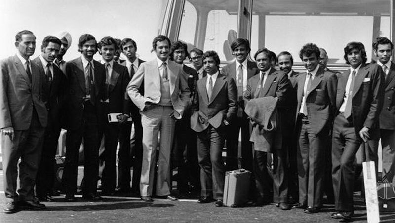 Team India all packed for another thrashing on the 1974 tour of England. Critics suggested the men were being affected by the political turmoil back home.