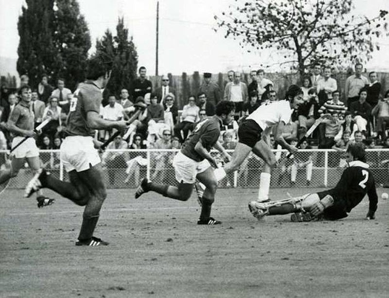 1971: As civil war raged back home, the Pakistan hockey team went on to win the inaugural Hockey World Cup in Barcelona.