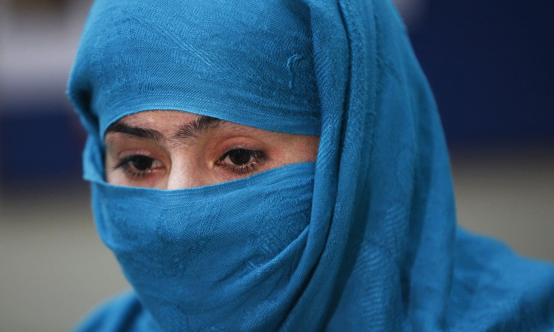 Azra talks to The Associated press in Karachi, Pakistan.—AP