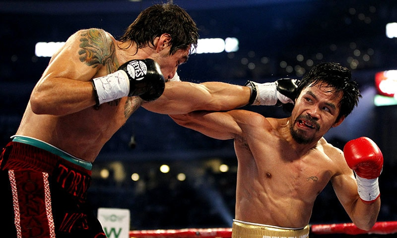 Pacquiao said he was not condemning homosexuals but was standing by his conservative Christian faith. — Reuters/File
