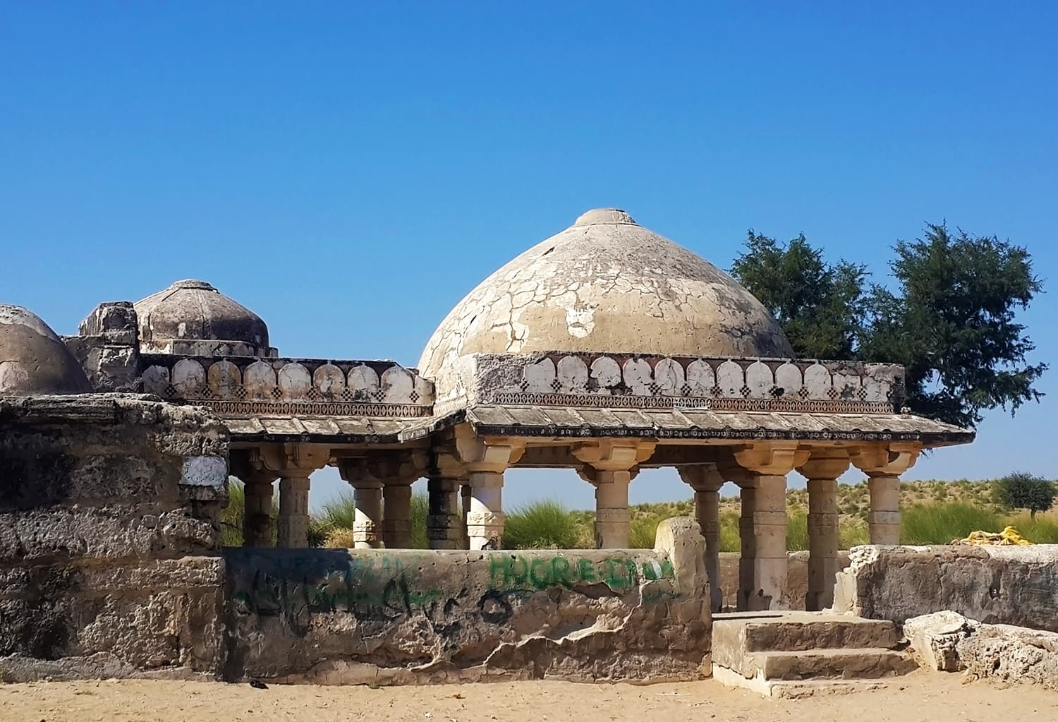 The Gori temple in Nagarparkar area of Tharparkar district. — Photo by author
