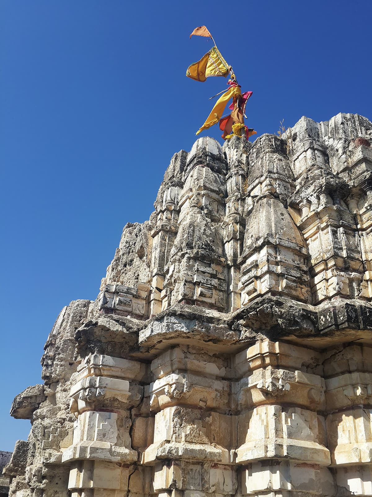 It was built by a wealthy Hindu merchant and is dedicated to Lord Parshwanath, the 23rd Jain prophet — Photo by author