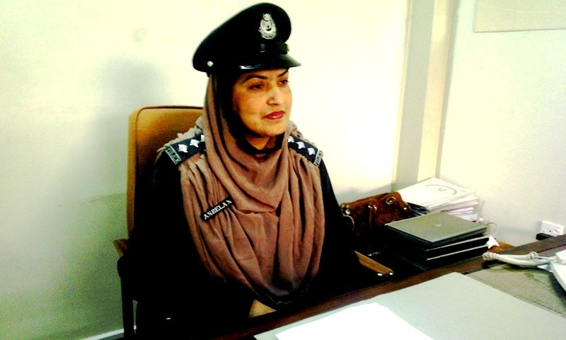 Meet Aneela Naz, the KP police officer battling criminals and stereotypes