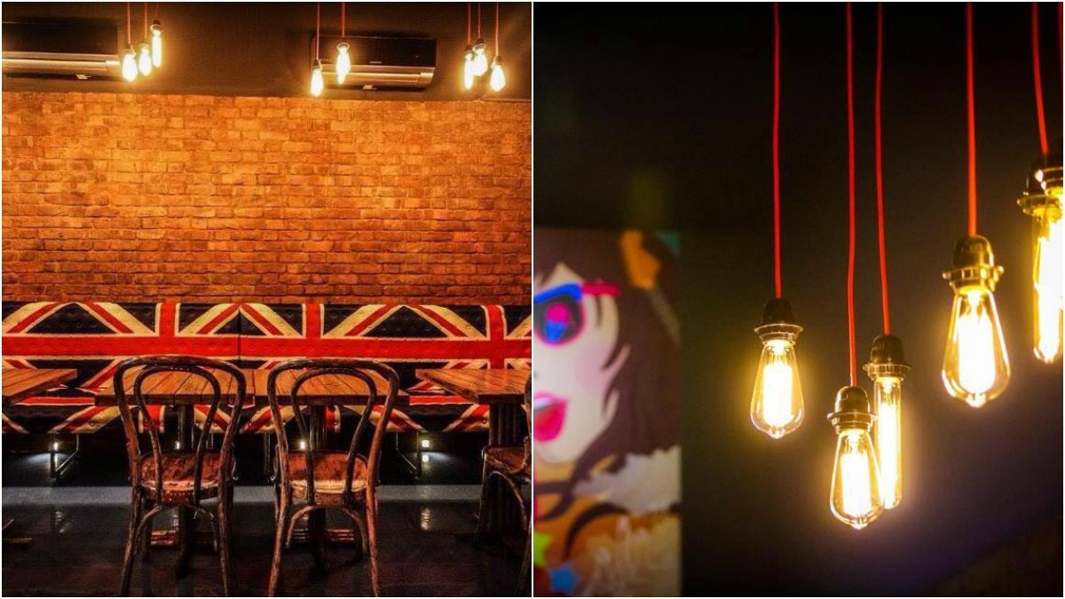 Sayem Ghayur is the brains behind the brilliant design; The owners wanted the place to have a theme that merged music and science.