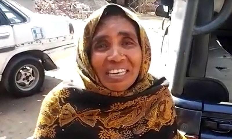 بچے کی ماں شبانہ کا کہنا تھا کہ اس نے بیٹے کو قتل نہیں کیا— فوٹو: ڈان نیوز