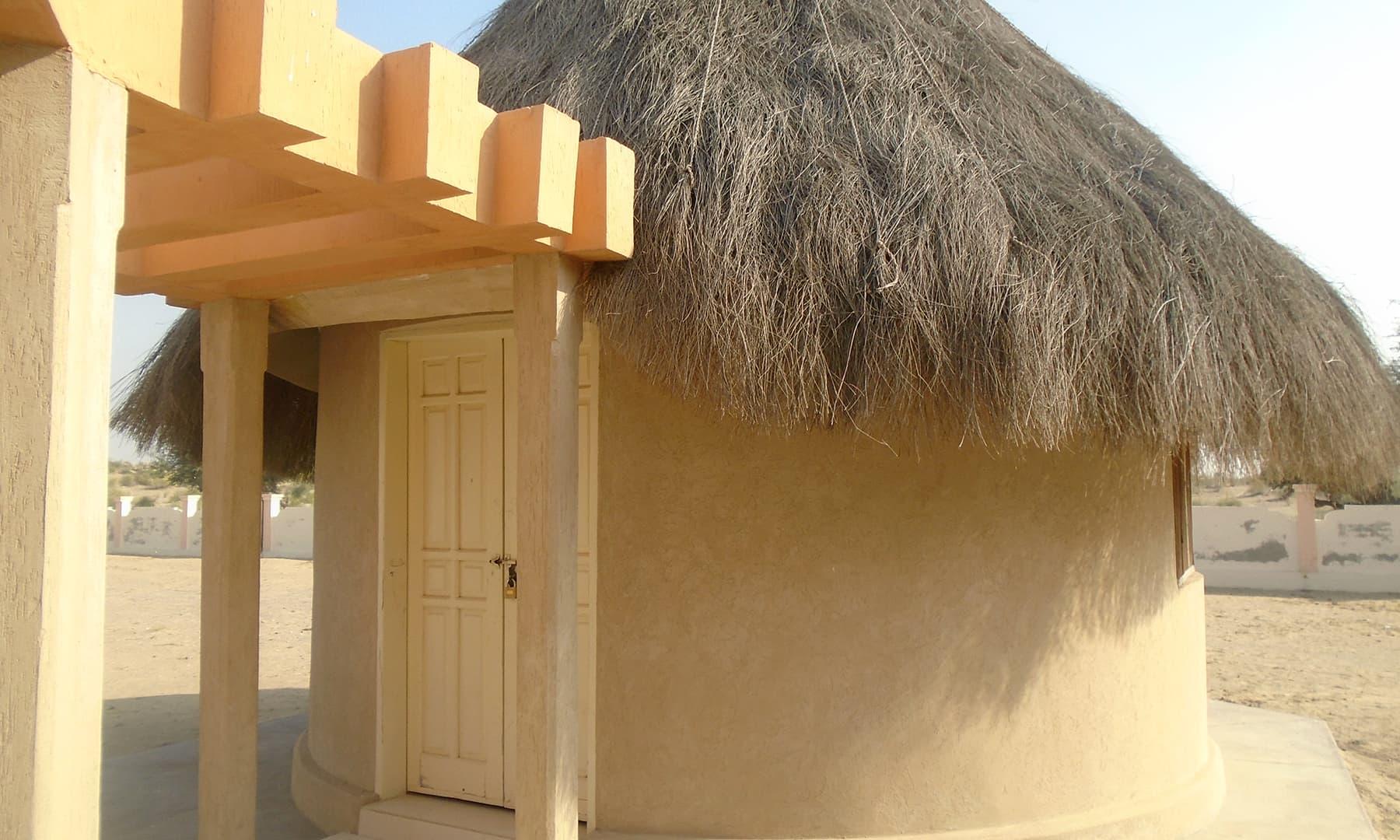 ماروی کے کنویں کے نزدیک ایک کمرے کا میوزیم بھی قائم کیا گیا ہے.