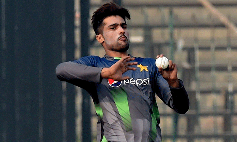 Amir made his international return during the series against New Zealand last month.  — AFP/File
