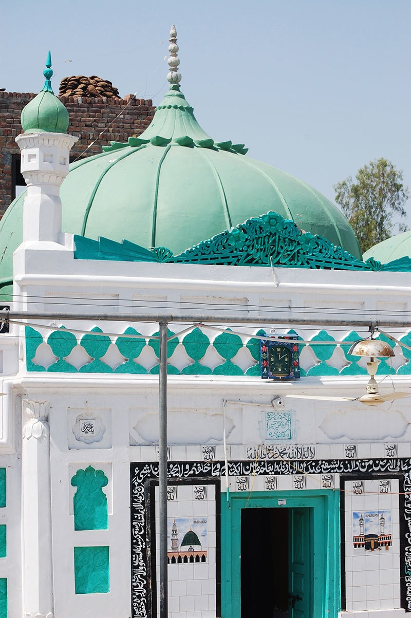 The mosque where Waris Shah wrote Heer. —Photo provided by author