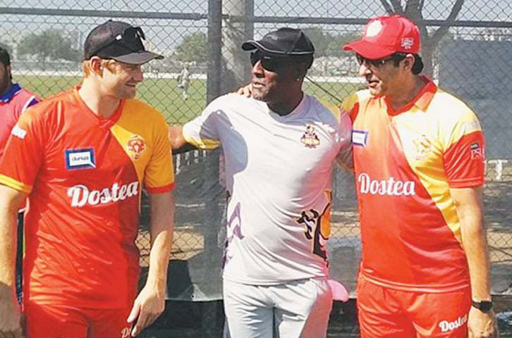 Wasim Akram in that orange jumpsuit is sure to be seared into our heads for a long time.