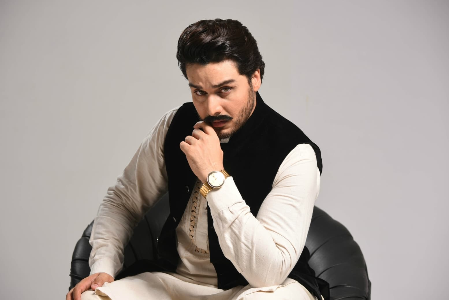 Ahsan Khan also impresses as Shams, a rural Chudhary siyasati to the core - Publicity photo
