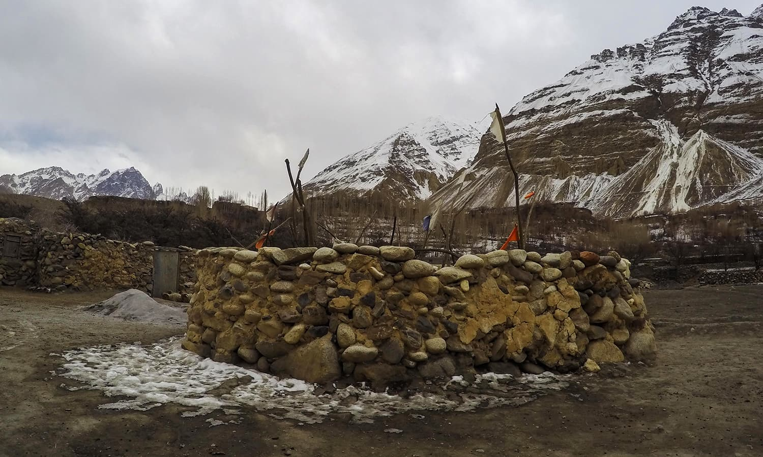 A spiritual well in Shimshal. — Photo by author