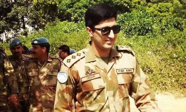 Capt Umair (Late). —Photo ISPR
