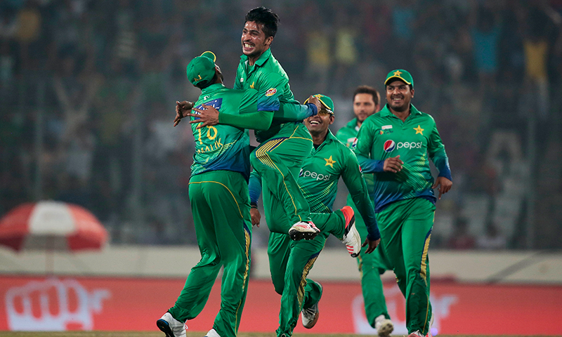 Amir generated sheer pace and swing with pinpoint accuracy on a helpful track at the Sher-e-Bangla National Stadium to leave India rattled at 8-3 inside three overs. — AP