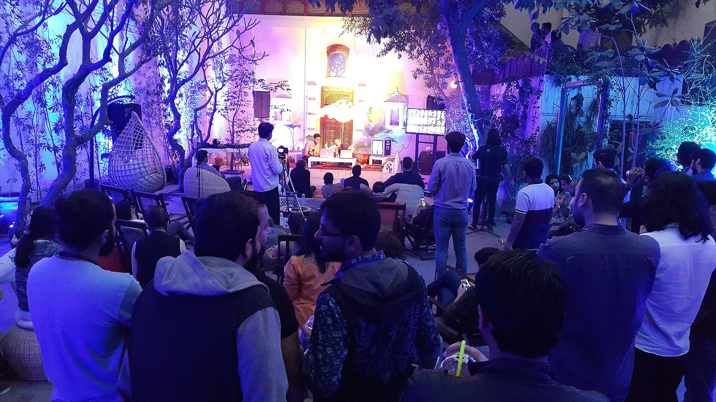 What happens when Red Bull Music Academy makes its first stop in Pakistan?